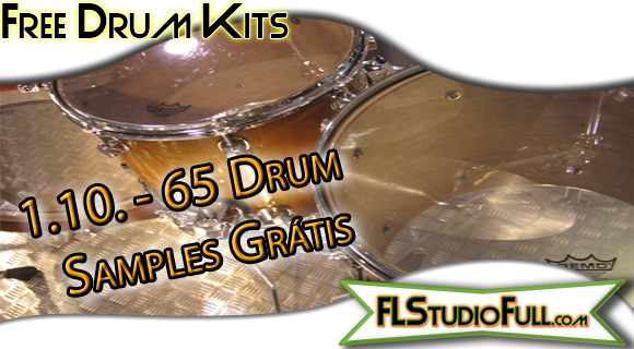 65 Drum Samples Free - Samples para FL Studio