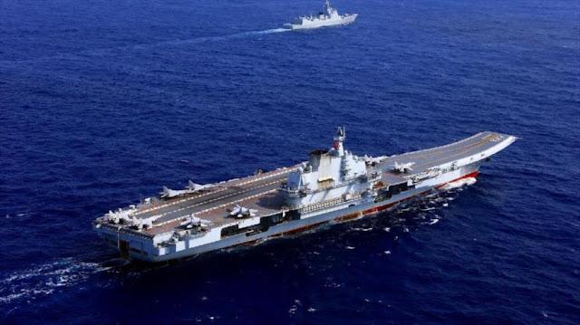 China desafía a EEUU enviando portaviones al estrecho de Taiwán
