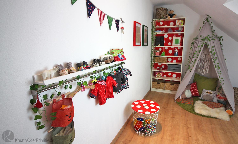 Kreativ Oder Primitiv Roomtour Diy Marchenwald Kinderzimmer