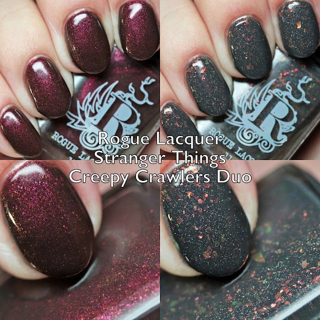 Rogue Lacquer Stranger Things Creepy Crawlers Duo