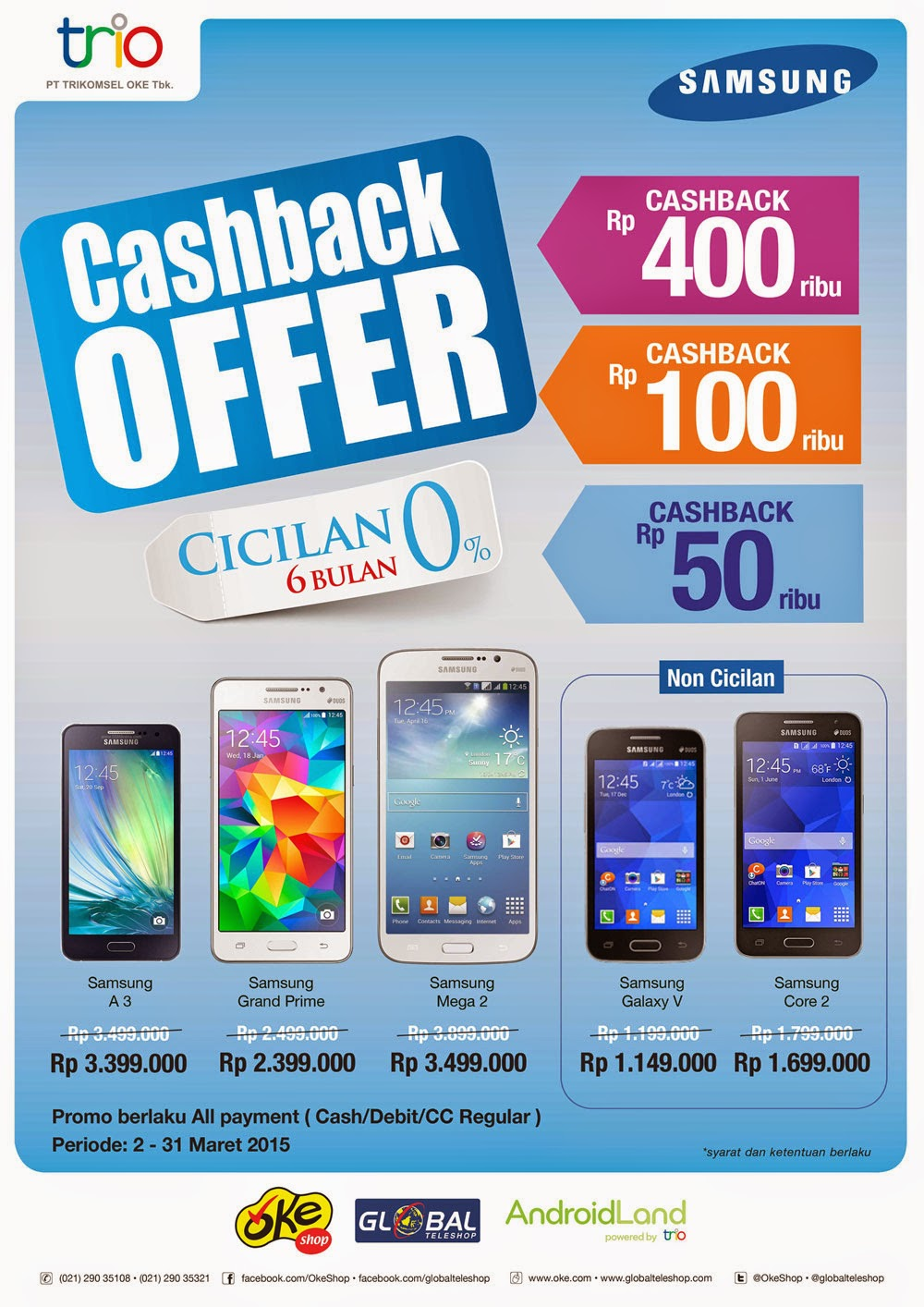 Promo Samsung Galaxy Di Indonesia