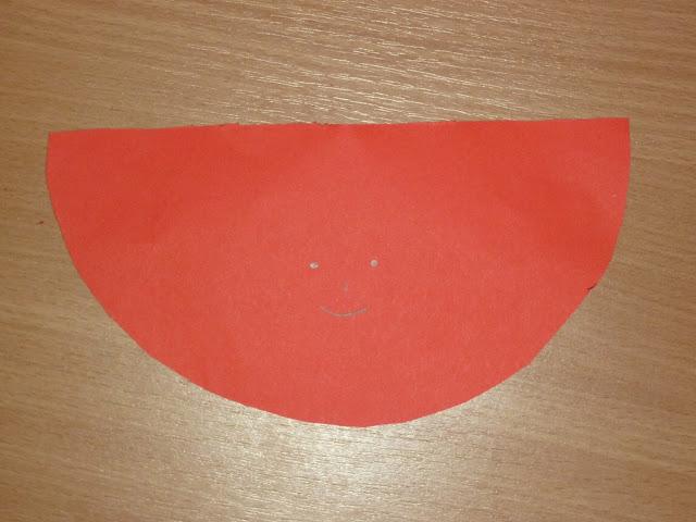 Nikolaus basteln aus Papier