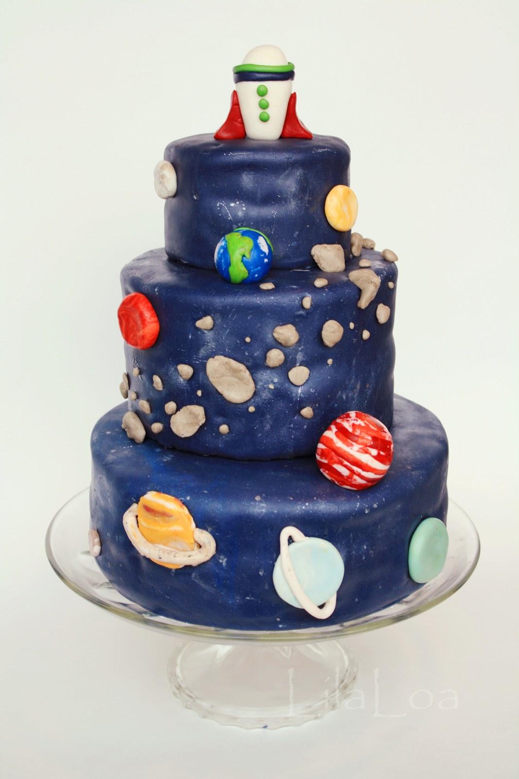 Space Ship Cake Recipe