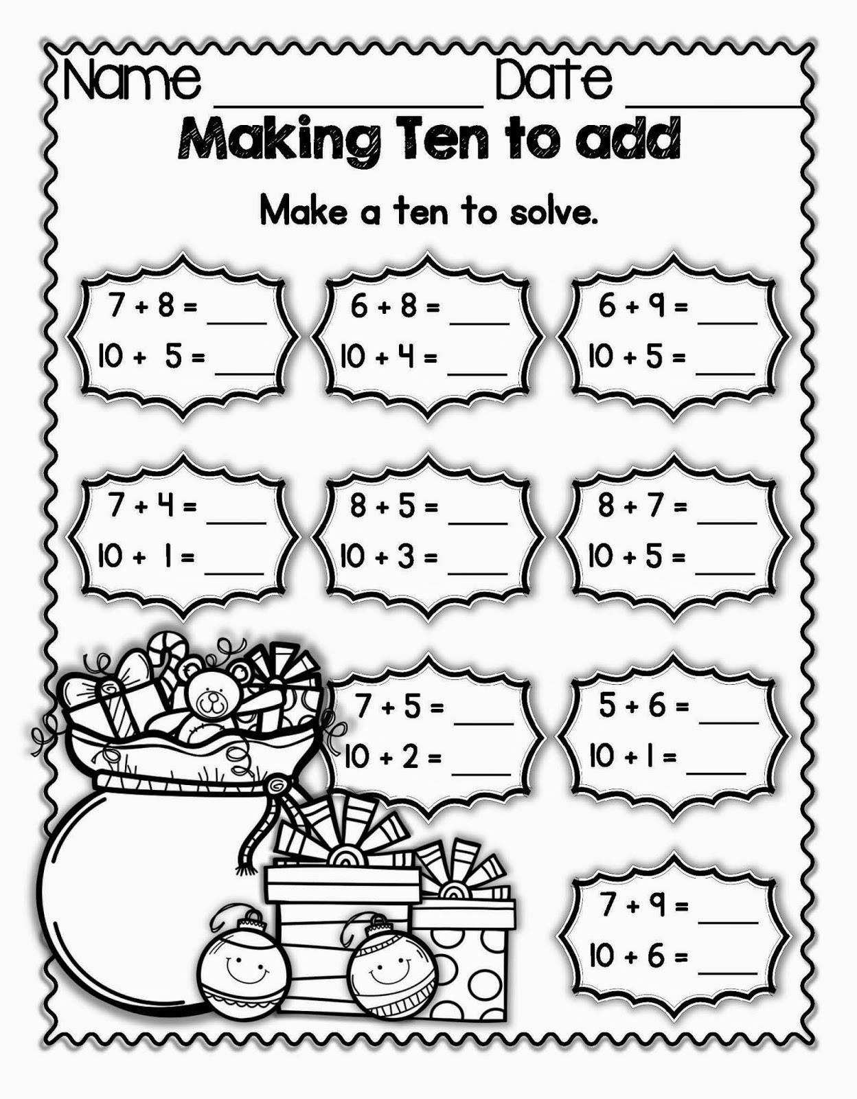 I Heart Math Holiday Hop
