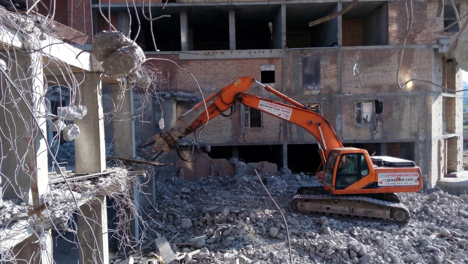 Блог Адвоката Морозова (судебная защита): Демонтаж об`єктів ...