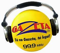 Rádio Gazeta FM 99,9 de Cuiabá - Mato Grosso