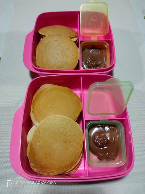 resepi pancake gebu dan mudah