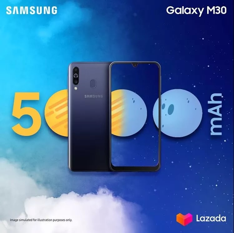Samsung Galaxy M30 Lands in the Philippines