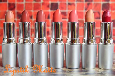 lipstik matte yang rekomended dari brand ternama