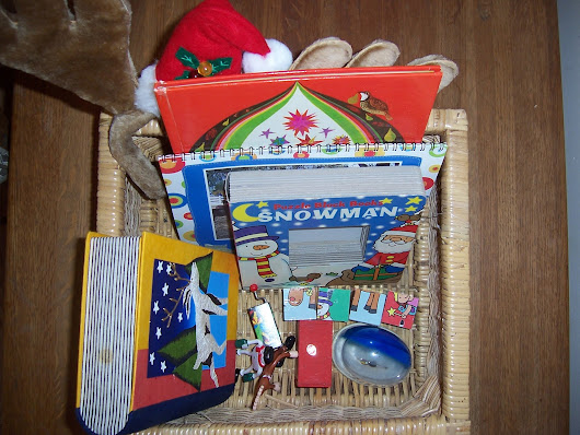 Winter-Themed Montessori Treasure Baskets