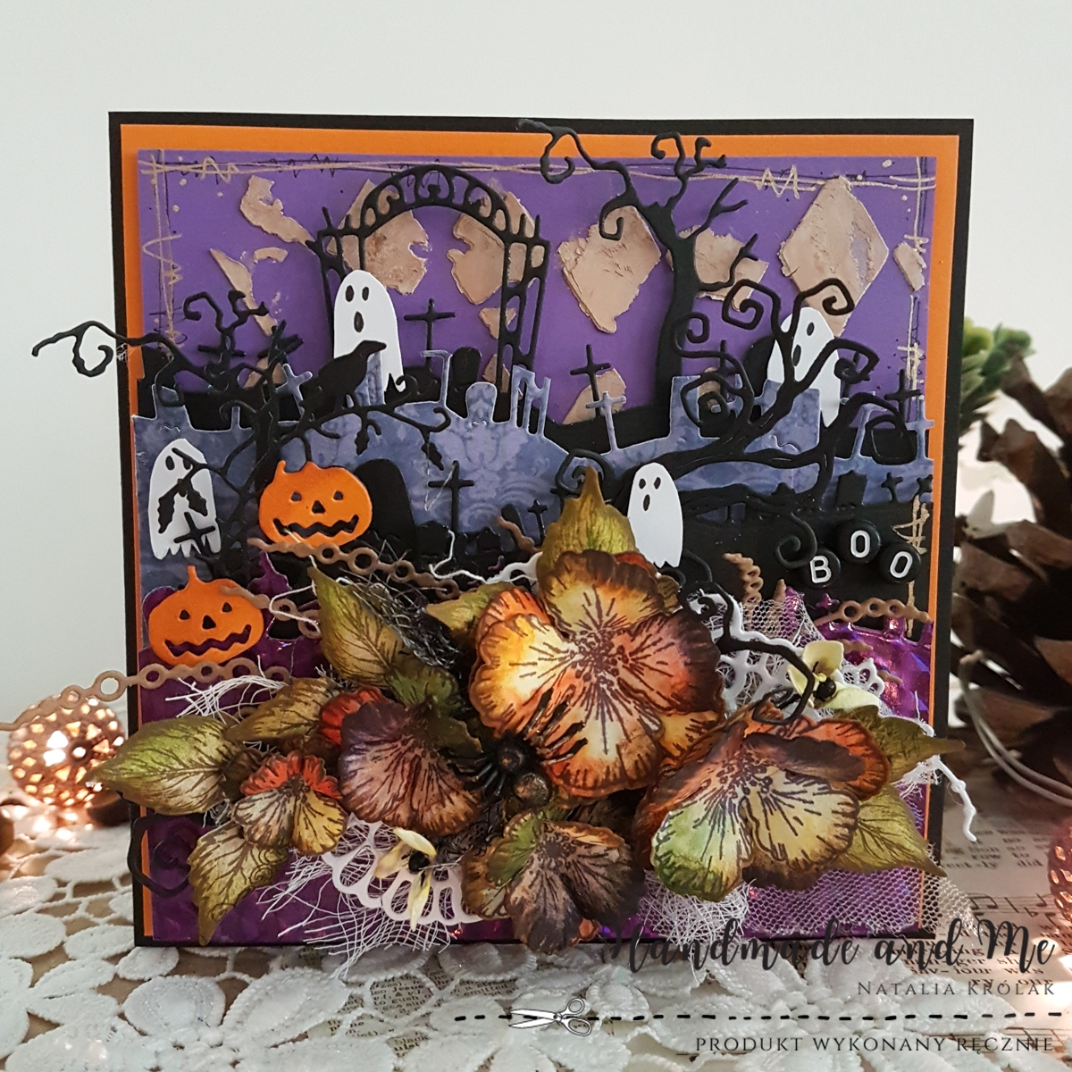 Halloweenowe cmentarzysko