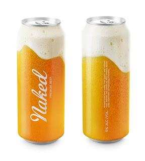 Diseño de botella de cerveza