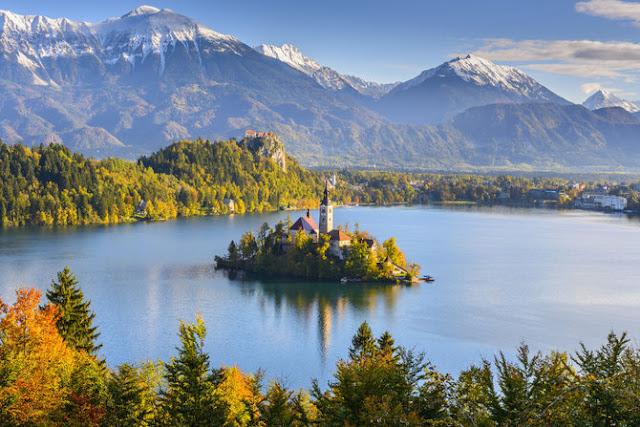 Danau Bled, Slovenia