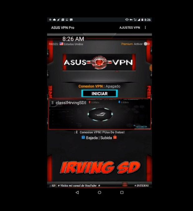 Download Anonytun Pro / Asus VPN (Unlimited Pro) APK Terbaru 2019