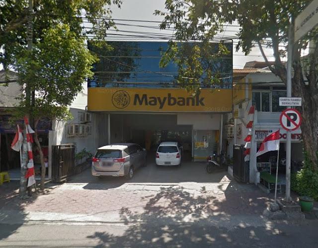 Daftar Alamat Kantor Bank dan ATM Maybank di Gresik