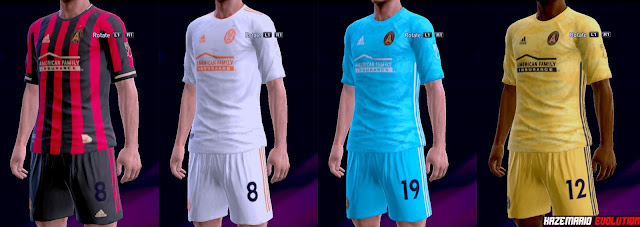 official photos 8cdba b4781 PES 2013 Kits Atlanta United FC 2019
