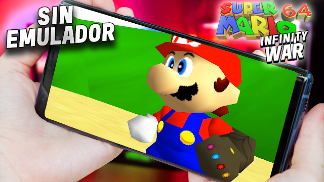 Super Mario 64 (Infinity War) Sin Emulador Para Teléfonos Android [Apk]