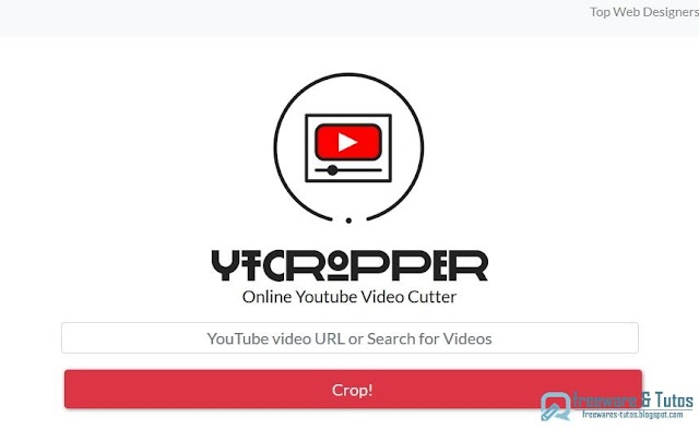 YTCropper : pour partager une portion spécifique d'une vidéo Youtube