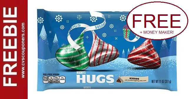 FREE Bag of Hershey's Kisses at CVS 12-6-12-12