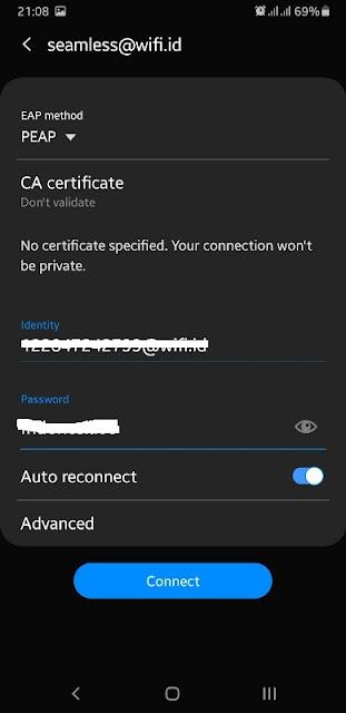 Cara menggunakan Seamless wifi id Indihome