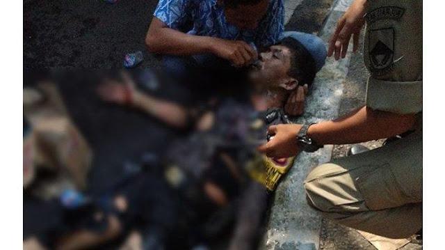 3 Polisi Terbakar Saat Demo Mahasiswa di Cianjur, Ada yang Siram Bensin hingga Korban Menjerit