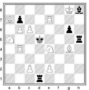 Problema de mate en 2 compuesto por José Antonio López Parcerisa (3º Recomendado, ASIGC 2017)