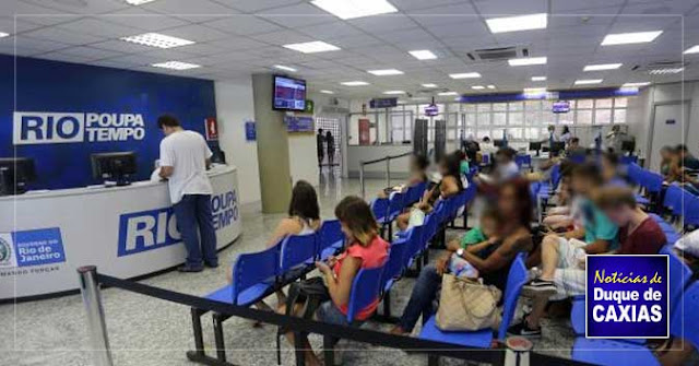 Saiba quais serviços estão em funcionamento no Poupa Tempo do Caxias Shopping