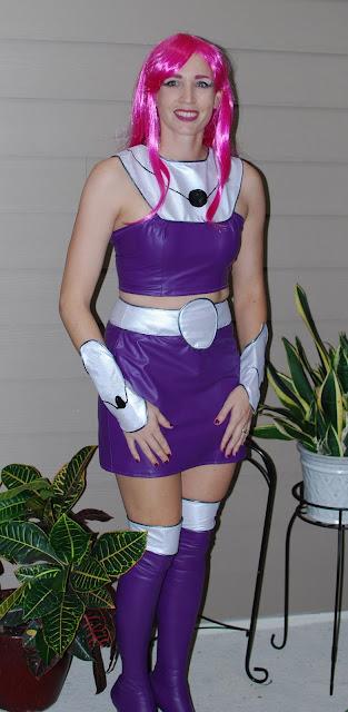 SouthShore Handmade: Teen Titans Go Starfire Costume