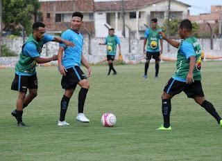 Botafogo-PB encerra preparação para enfrentar a Desportiva