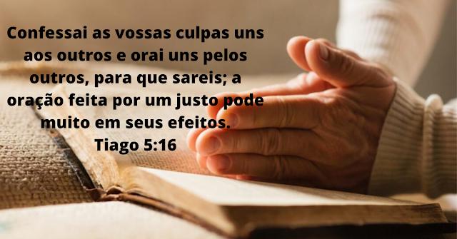 14 Versículos da Bíblia sobre Confissão