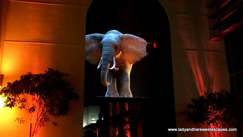 Elephantastic at Dubai Festival of Lights