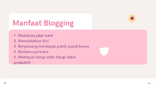 5 Manfaat Blogging