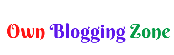 Own Blogging Zone