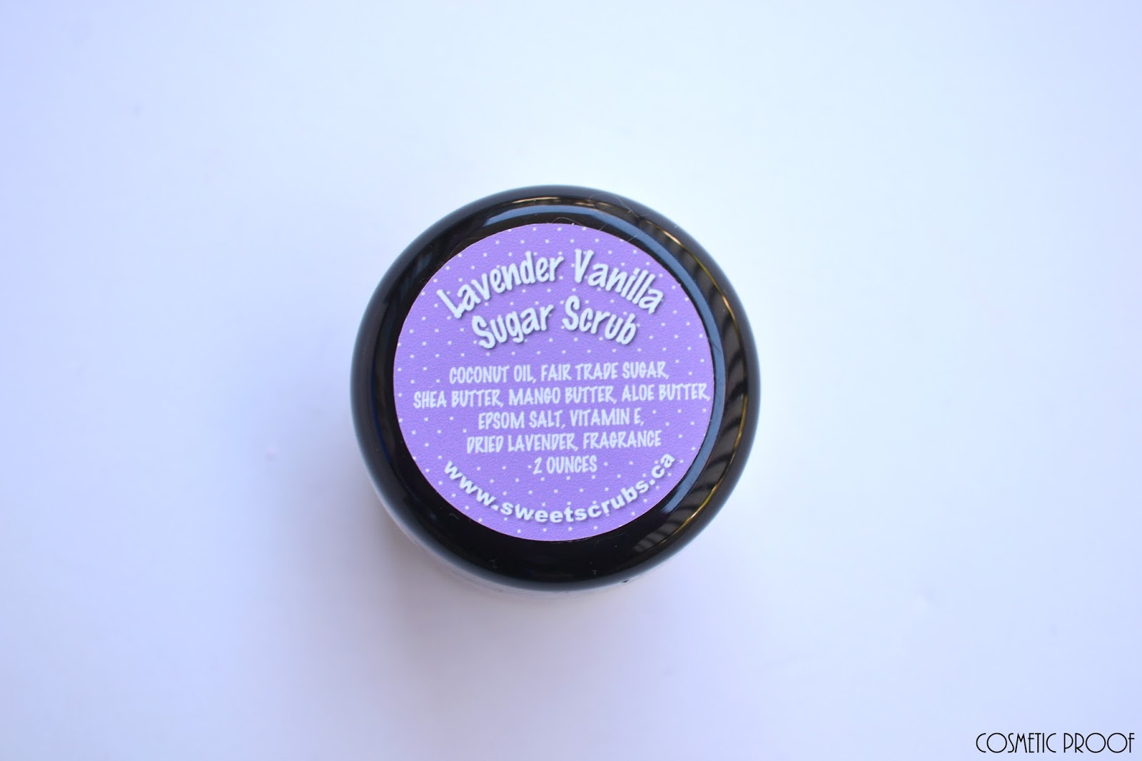 Subscription Box November Vancity Review Cosmetic Proof Aromatherapy Lavender Vanilla Sugar Scrub On The Topic Of Comes Sweet Sassafras Spray From Vancouver Based Here Now Botanicals Which Is A Blend Myrtle