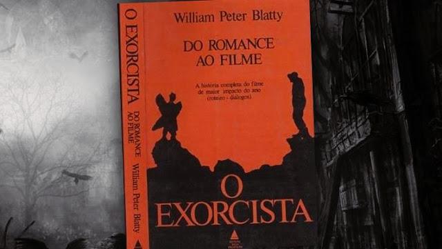 livros de terror, livros clássicos de terror, dicas de livros de terror, literatura de terror, o exorcista, william peter blatty