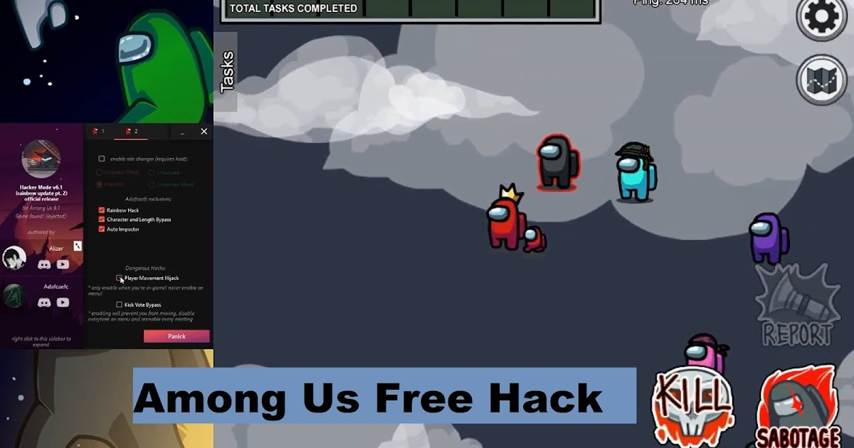 Among us FREE Hack PC - FREE RADAR ,See Impostors ...