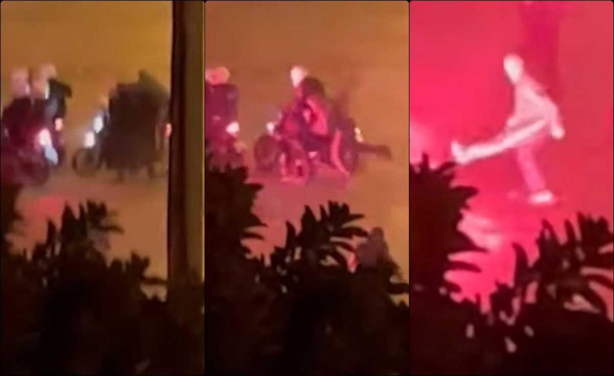 Νέα Σμύρνη: Ξυλοκοπούν άγρια τον αστυνομικό για 2,5 λεπτά