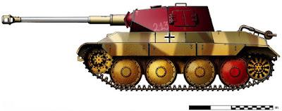 Pz.Kpfw 38 mit Pz.Kpfw IV Drehturm (75 mm KwK 43 L/48) Vorschlang