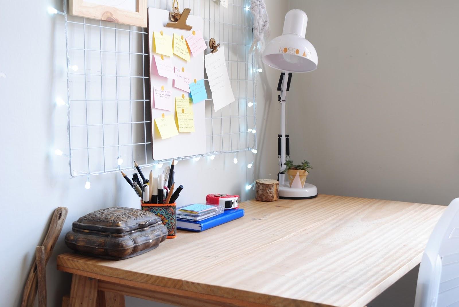 Nosso Ap Decor Diy Viver Criativo Antes E Depois Como  ~ Como Fazer Um Home Office No Quarto