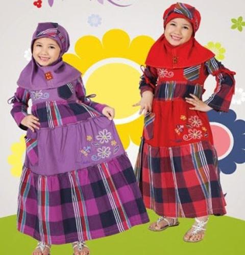 Kumpulan Foto Baju Muslim Anak Dannis Di Tanah Abang