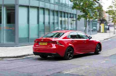Lexus IS Car Rear Photos
