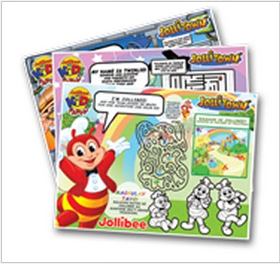 Jollitown theme tray liners