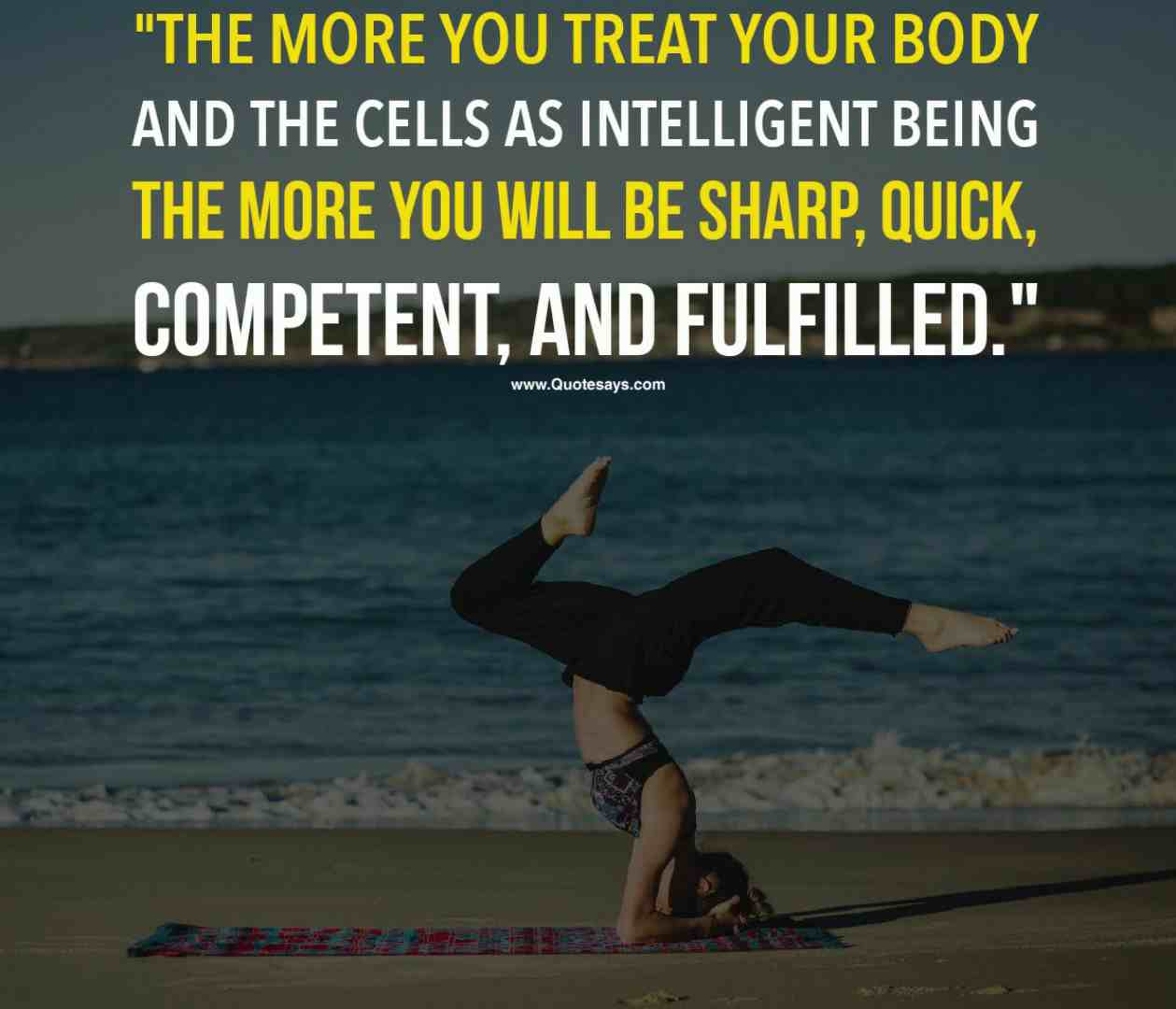 Inspirational yoga quotes. Yoga quotes