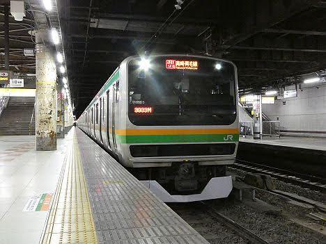 【ダイヤ改正で廃止!】高崎・両毛線 通勤快速 前橋行きE231系