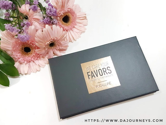 Review FOCALLURE We Care Your Favors #02 Neutrals Eyeshadow Palette