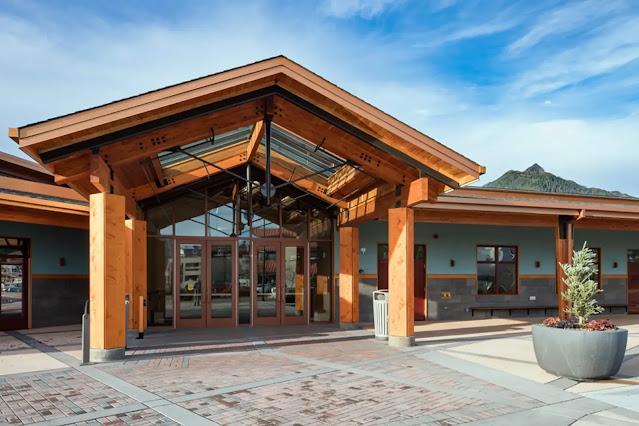 Harrigan Centennial Hall  in Sitka, Alaska