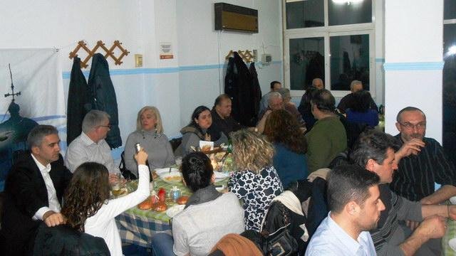 Έκοψε την πίτα της η Κίνηση Αλληλεγγύης Πολιτών Αλεξανδρούπολης