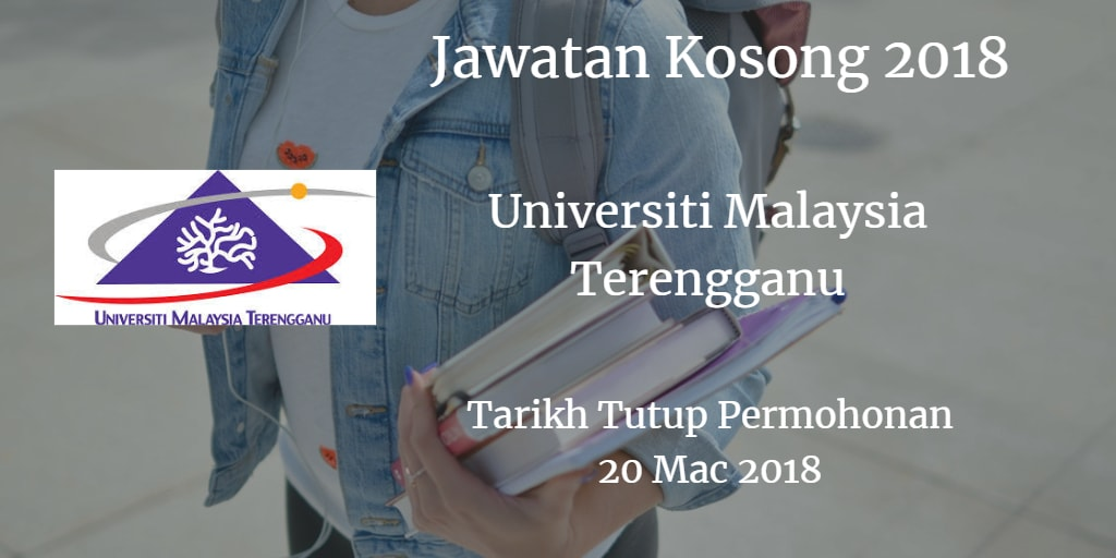 Jawatan Kosong UMT 20 Mac 2018