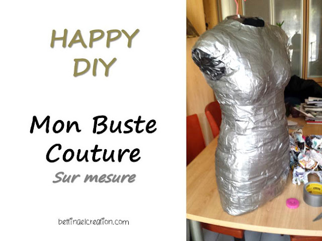 diy mon mannequin de couture sur mesure bettinael passion couture made in france. Black Bedroom Furniture Sets. Home Design Ideas