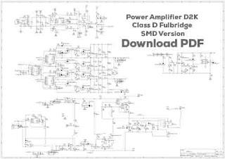 Class-D Fullbridge IR2110 D2000W